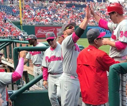 3-run ninth pushes Philadelphia Phillies past Washington Nationals