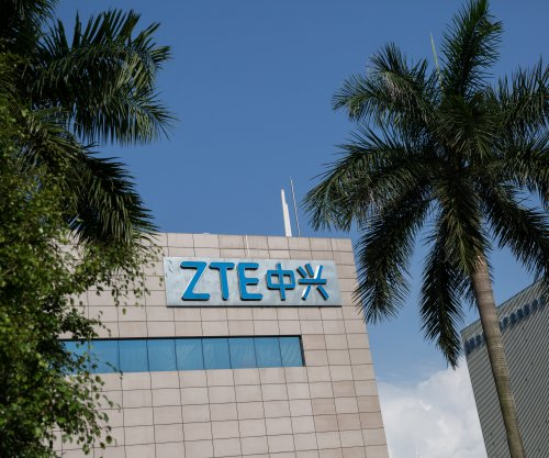 Senate votes to reimpose U.S. ban on Chinese phone maker ZTE