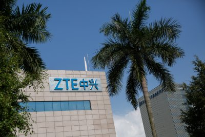 Senate votes to reimpose U.S. ban on Chinese phone maker ZTE