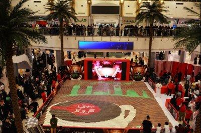 Massive mug cake mosaic sets Guinness record in Saudi Arabia