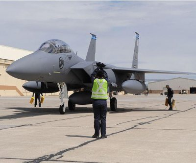 Singapore air force celebrates 10 years of training at Idaho air base