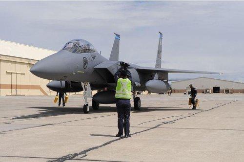 Singapore air force celebrates 10 years of training at Idaho air base