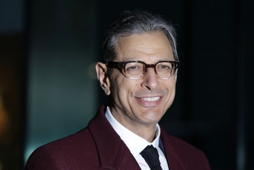 Jeff Goldblum, Stephen Colbert compare 'Grand Budapest Hotel' to meat cake