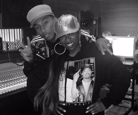 Missy Elliott, Pharrell Williams team up in the studio