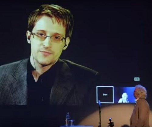 Edward Snowden receives Norwegian freedom of expression award