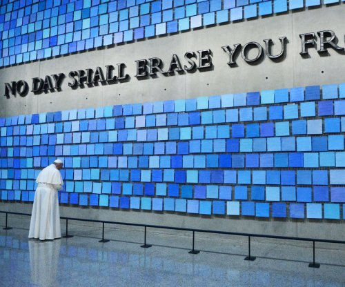 Pope Francis at Ground Zero: Grief still 'palpable'