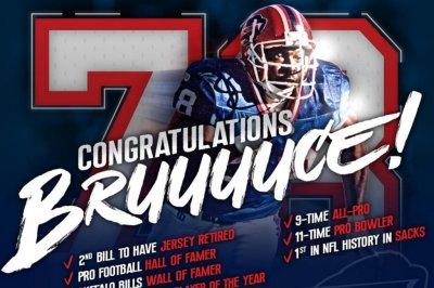 Buffalo Bills to retire Bruce Smith's No. 78