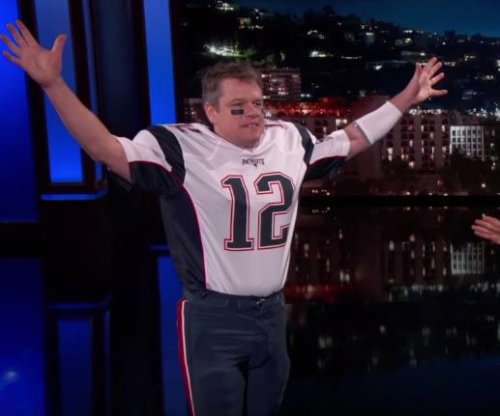 Matt Damon appears as Tom Brady on 'Jimmy Kimmel Live!'
