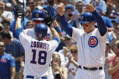 Chicago Cubs halt Colorado Rockies' seven-game win streak