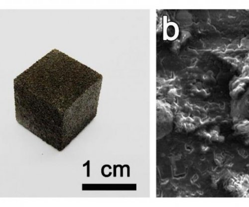 Scientists 3D-print graphene foam, a first