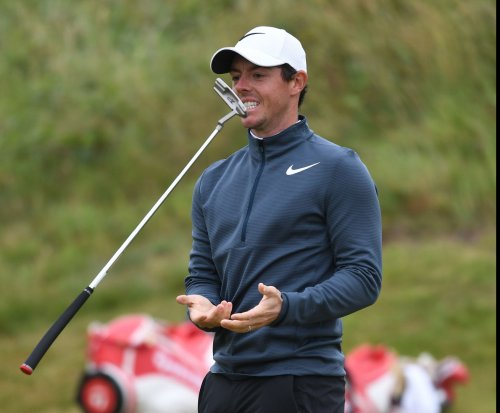 Open Championship: Rory McIlroy 'ecstatic' after second-round 68