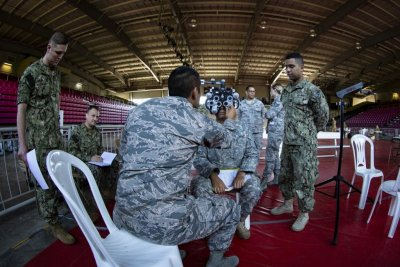 Marines participate in medical readiness training in Puerto Rico