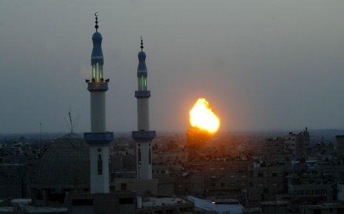 Israel strikes back after school bus hit