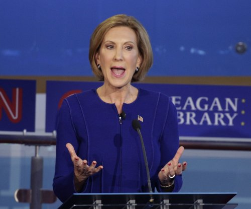 Presidential candidate Carly Fiorina calls for 'rebuild' of 6th Fleet