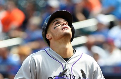 Colorado Rockies complete sweep of Atlanta Braves