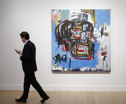 Basquiat painting sells for record $110.5 million at auction