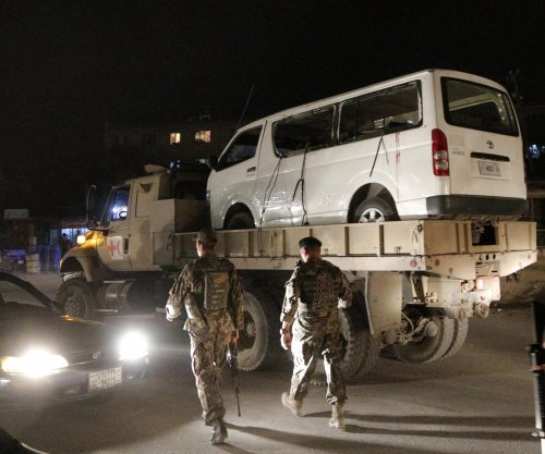 Minibus bombing in Afghanistan kills at least 15 cadets
