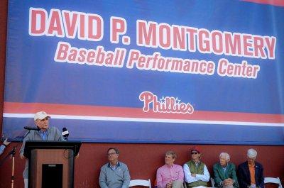 Phillies chairman David Montgomery dies at 72