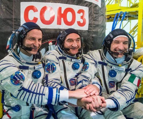 Astronauts arrive at space station 50 years after moon landing