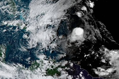 Showers, thunderstorms from Jerry to graze Leeward Islands