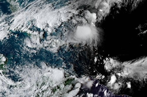 Jerry weakens into tropical storm, passes north of Leeward Islands