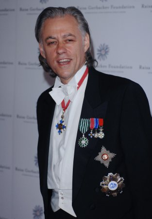 Geldof to discuss wedding with father
