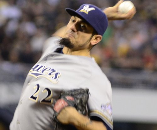 Matt Garza helps Milwaukee Brewers beat Cleveland Indians