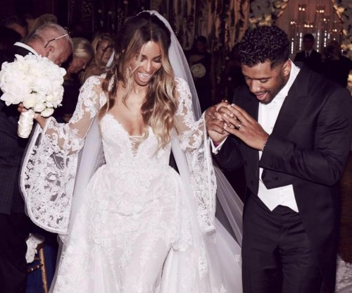 Russell Wilson marries Ciara in England