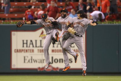San Francisco Giants win on Denard Span's homer in 10th