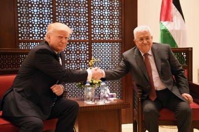 Palestine leader congratulates Kim Jong Un on anniversary