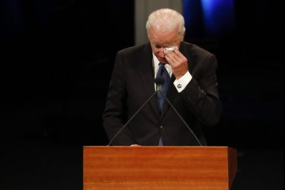 Joe Biden gives tearful eulogy for 'brother' John McCain