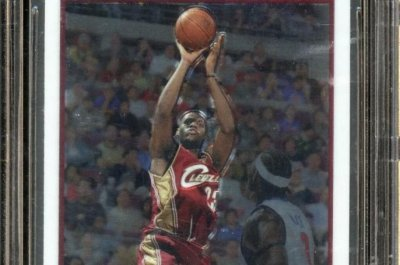 LeBron James rookie card auctioned for $50,000 more than 2016 sale