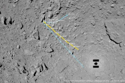 MASCOT completes first scientific 'stroll' across asteroid Ryugu