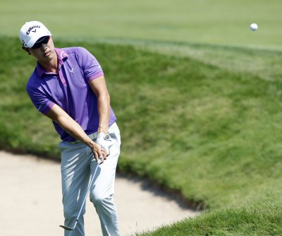 Jason Day, Sang-Moon Bae share Barclays lead after 63s
