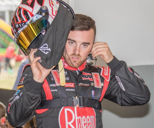Austin Dillon wins thriller at Fontana