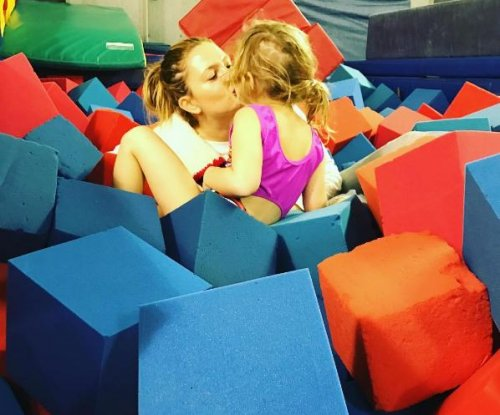 Drew Barrymore shares foam pit fun with daughter Olive on social media