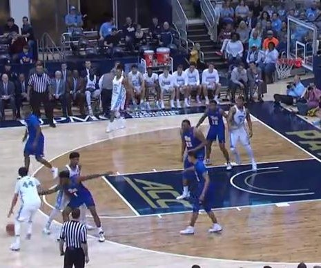No. 8 North Carolina rolls over Pittsburgh