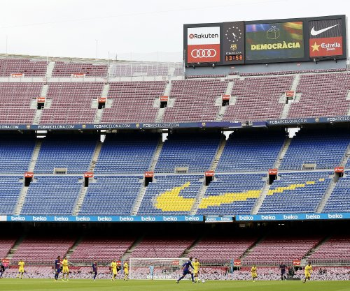 La Liga: FC Barcelona facing Las Palmas behind closed doors amid Catalan vote