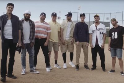 Milwaukee Brewers recreate 'Sandlot' scene