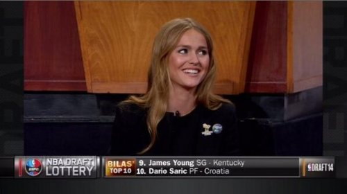 Mallory Edens, daughter of Bucks owner, becomes web sensation after NBA draft lottery
