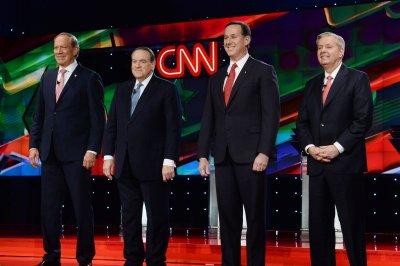 Trump's shadow hangs over under card GOP debate