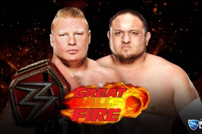 WWE Great Balls of Fire: Brock Lesnar survives Samoa Joe