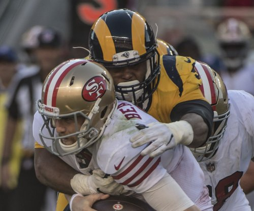 Los Angeles Rams' defense dominates 49ers
