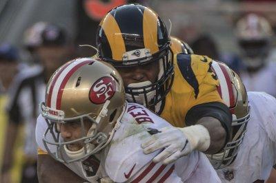 Los Angeles Rams' defense dominates 49ers