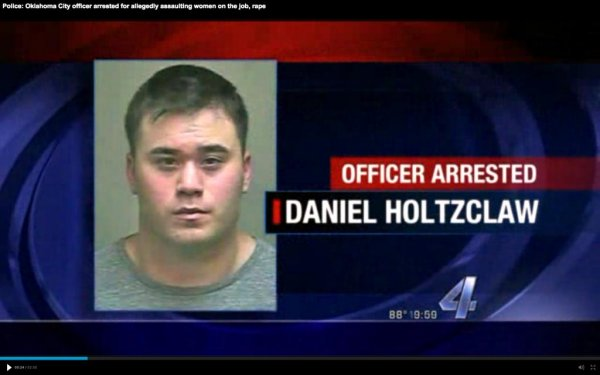 Oklahoma City Police Officer Charged With Raping Women