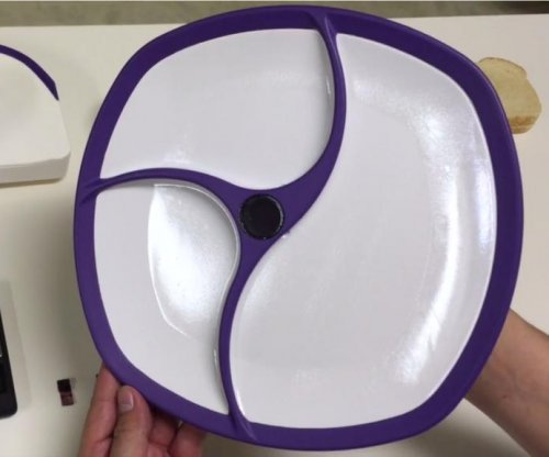 'Smart plate' knows what you're eating -- and when you've had too much