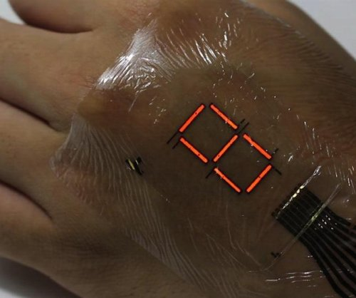 Novel e-skin may monitor health, vital signs
