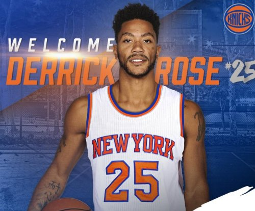 Derrick Rose unveils new number for New York Knicks