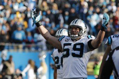 Carolina Panthers rule out LB Luke Kuechly against Oakland Raiders