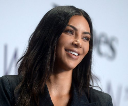 Kim Kardashian teases beauty line at Forbes summit